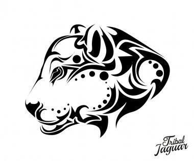 Tribal Jaguar tattoo