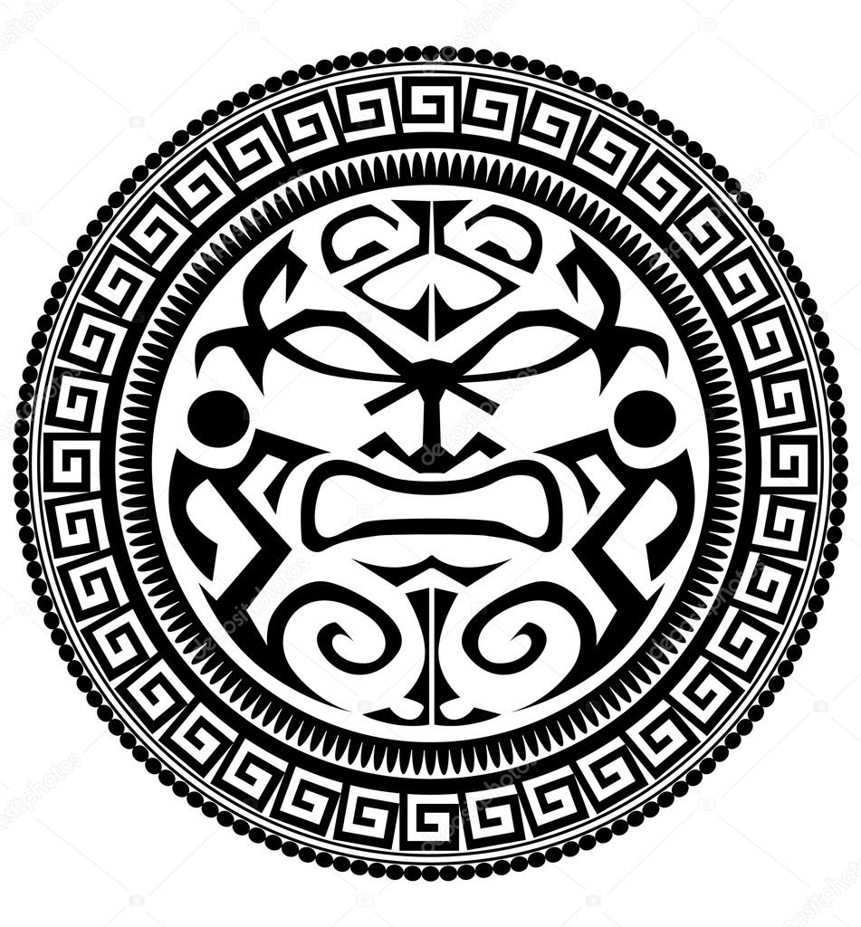 0102307bf Polynesian tattoo — Stock Vector © lindwa #73897279