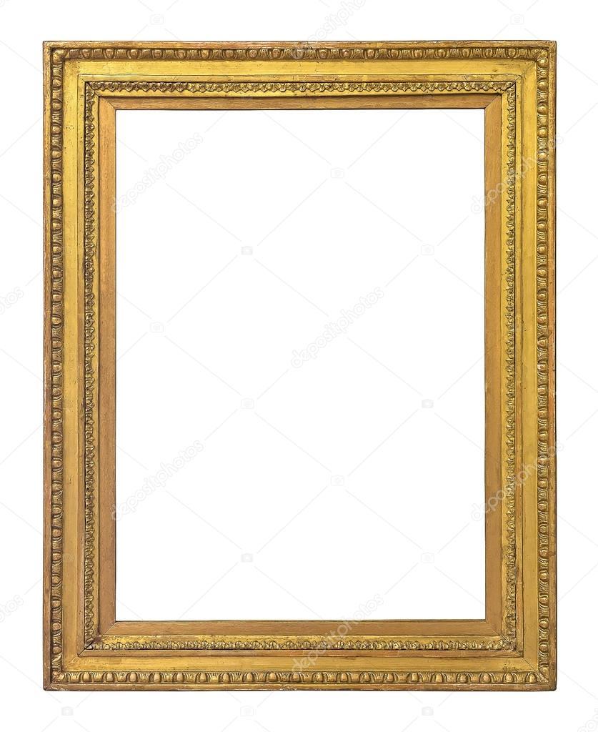 Bilderrahmen Vintage gold Farbe — Stockfoto © Preto_perola #70582079