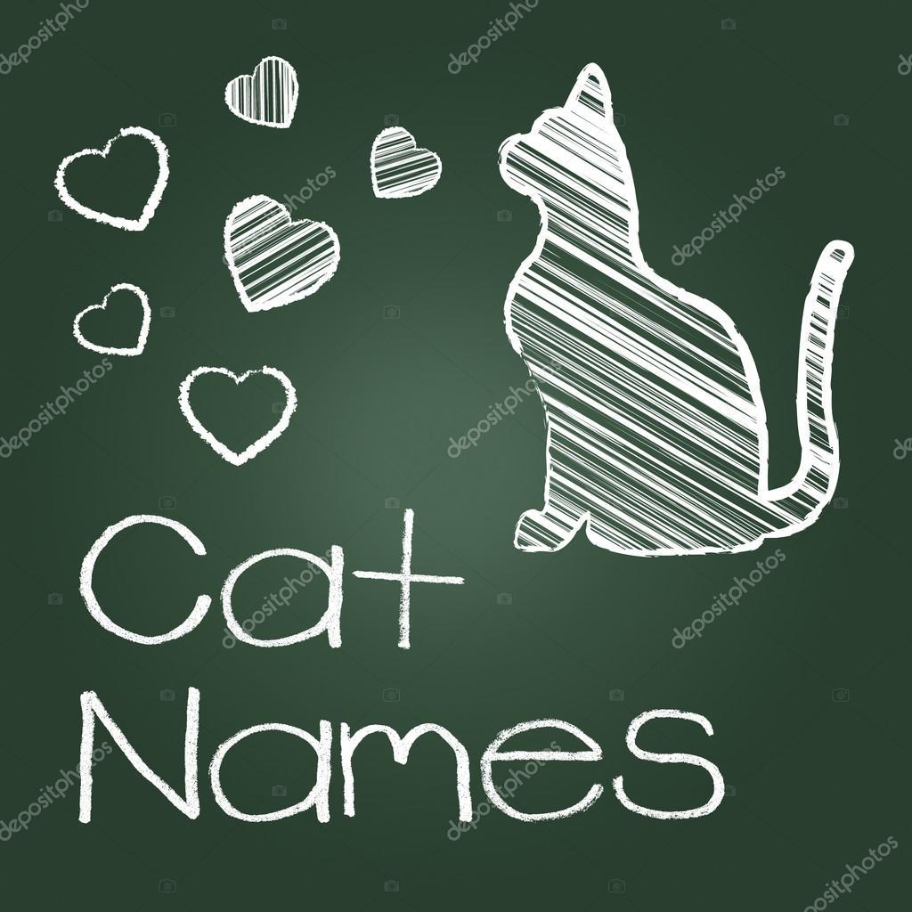 86cbd605d932 Γάτα ονόματα αντιπροσωπεύει αιλουροειδών ταυτότητα και γάτες ...