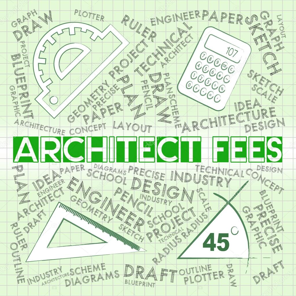 Architect fees means draftsmen payment and cost stock photo architect fees meaning draftsmen payment and cost photo by stuartmiles malvernweather Gallery