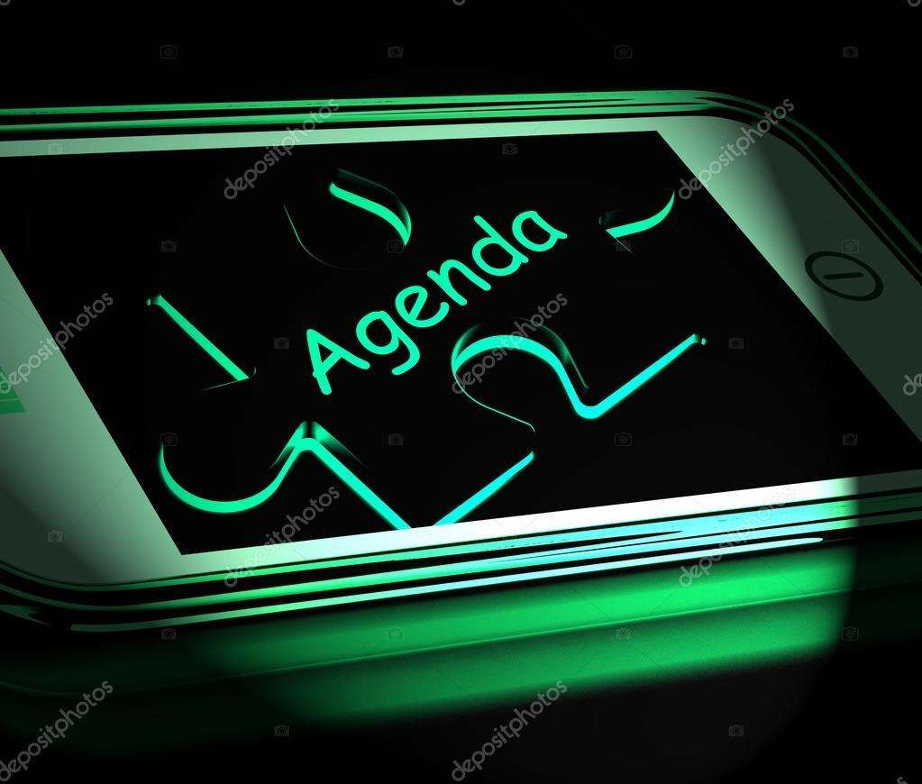 Visualizza Calendario.Agenda Smartphone Visualizza Programma E Calendario Internet