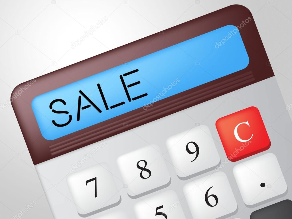 sale calculator represents calculate retail and reduction stock