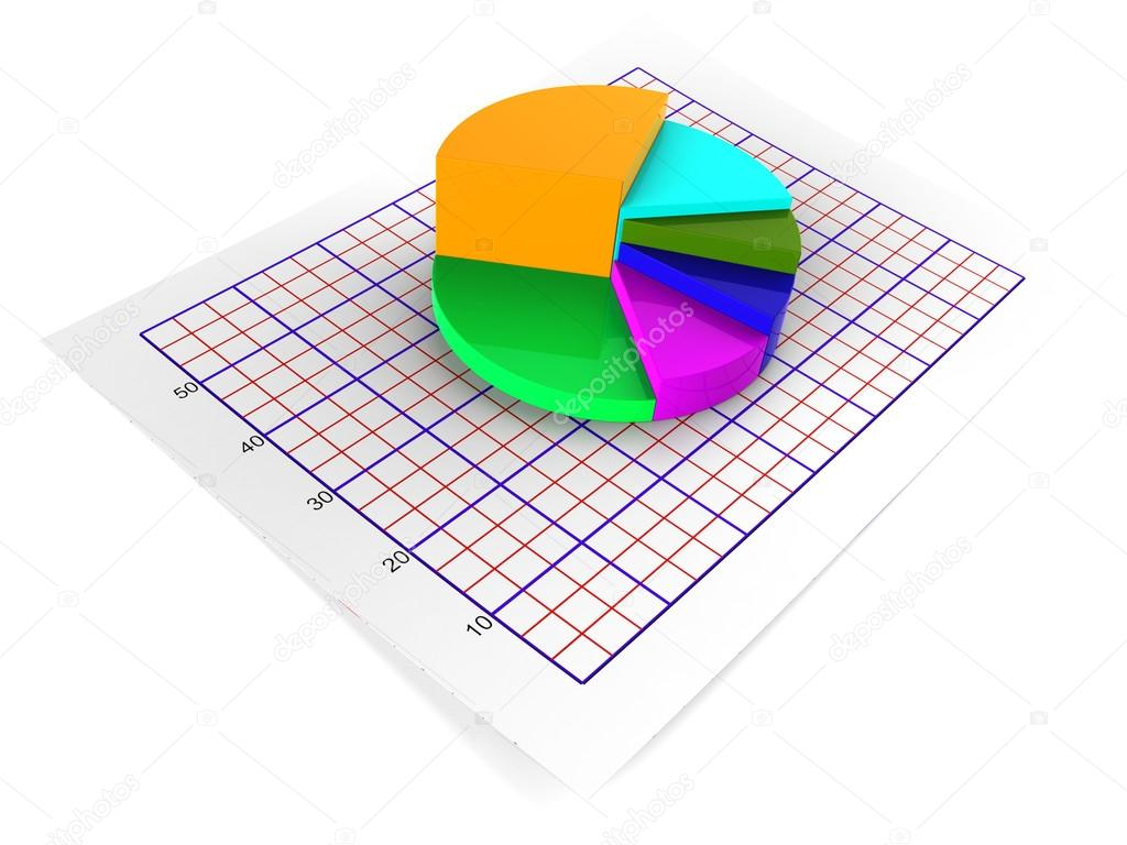 Pie chart shows statistical graphs and graphics stock photo pie chart meaning business graph and statistics photo by stuartmiles ccuart Choice Image