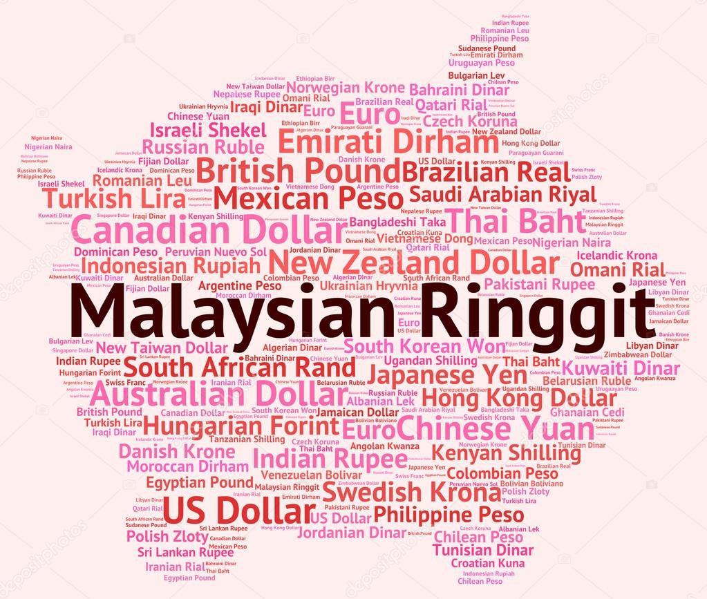 Malaysian Ringgit Shows Foreign Currency And Forex — Stock