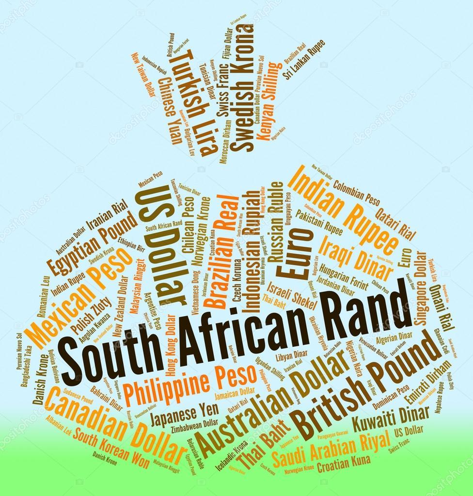 rand sud africain repr 233 sente les pi 232 ces de monnaie et devises photo 77144493