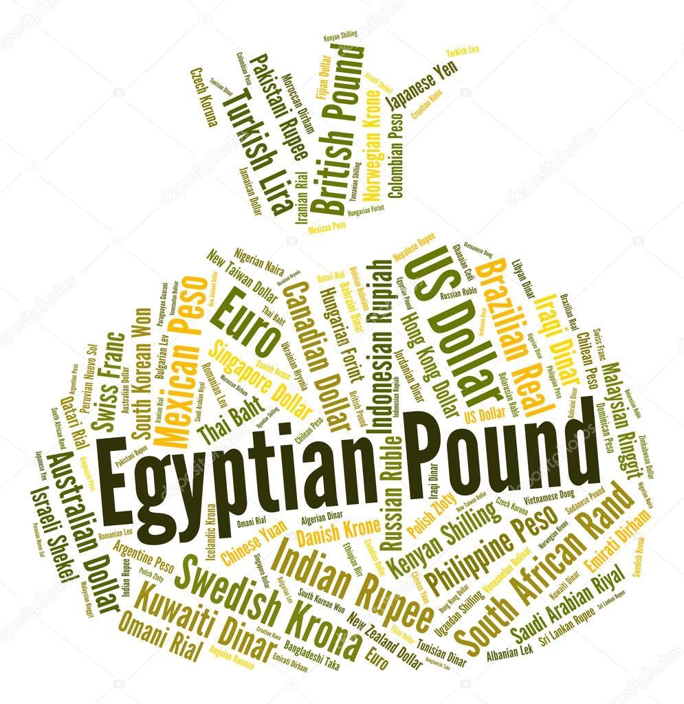 Livre Egyptienne Signifie Monnaie Et Devises Photographie