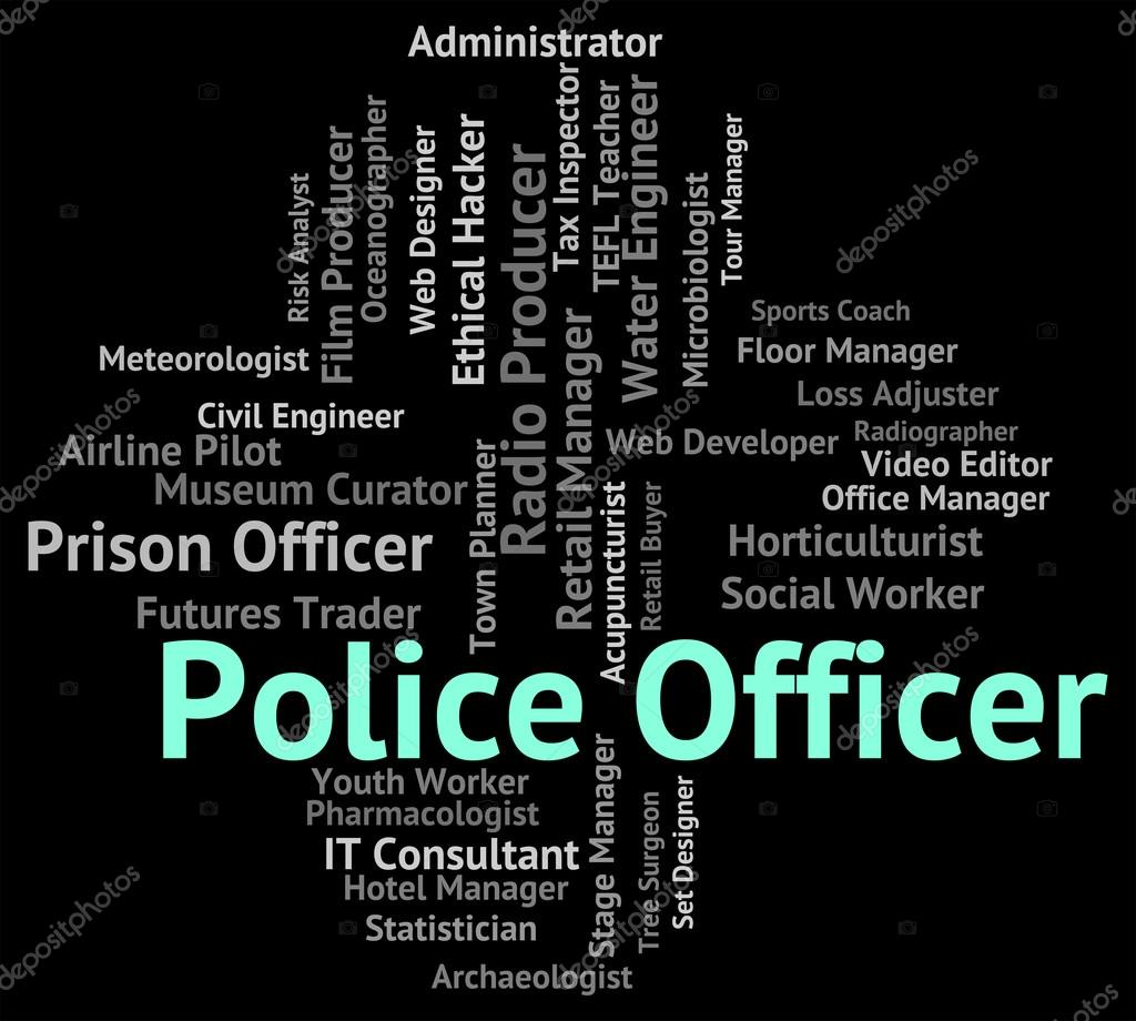 Police Officer Represents Law Enforcement And Administrator