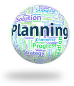 Planning Word Means Aim Mission And Aspirations