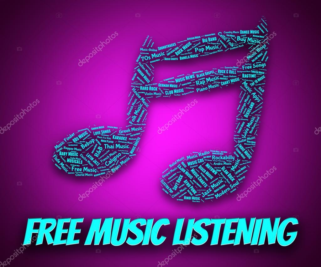 Free Music Listening Indicates With Our Compliments And