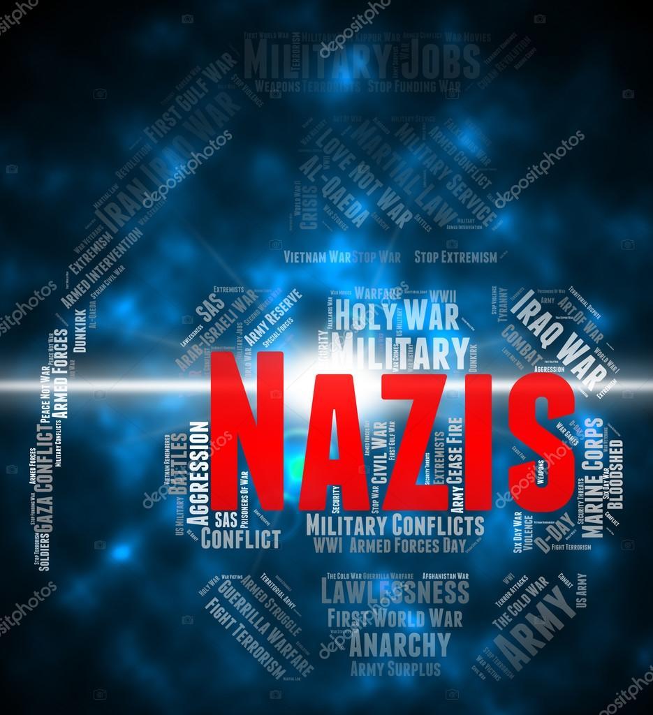 Naziler Kelime Anlamı Ulusal Sosyalizm Ve Antisemitizm Stok Foto