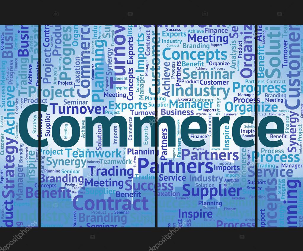 La palabra comercio significa Wordclouds comercio y comercio ...