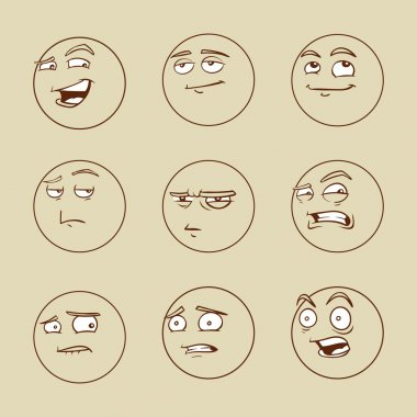 Emotional faces