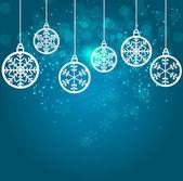 Fotografie abstrakte Schönheit Weihnachten und Neujahr Hintergrund. Vektor-illustration