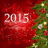 Fotografie abstrakte Schönheit Weihnachten 2015 und neues Jahr Hintergrund. Vector ich