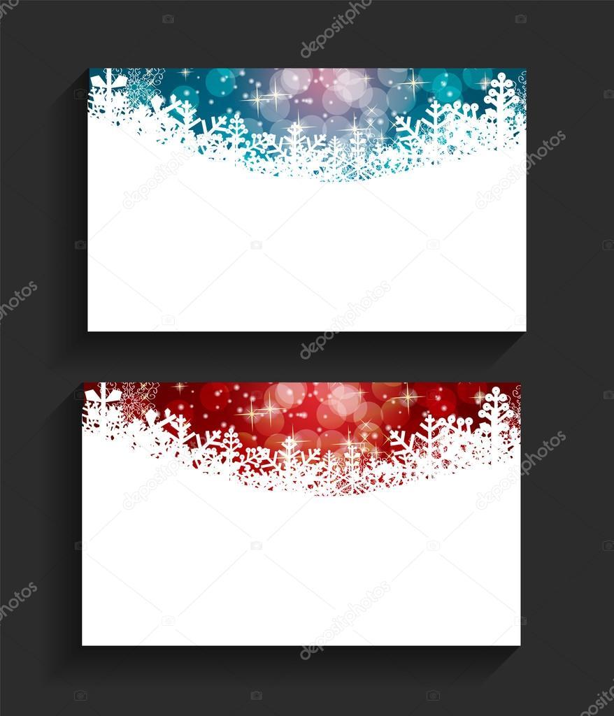 Illustration Vectorielle De Nol Carte Visite Dentreprise Image