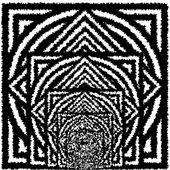 bianco e nero sfondo ipnotica