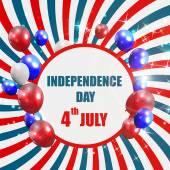 Den nezávislosti plakát vektorové ilustrace