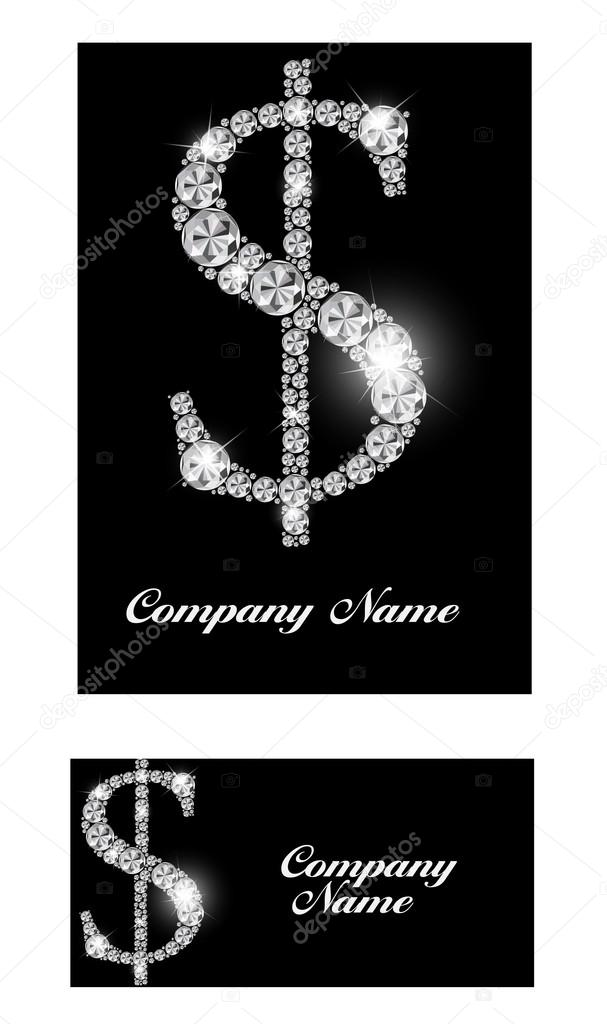Abstract luxury black diamond business card vector illustration abstract luxury black diamond business card vector illustration vetor de stock reheart