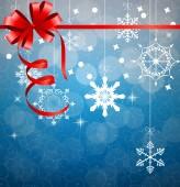Elvont szépség karácsonyi és újévi háttér. Vektor