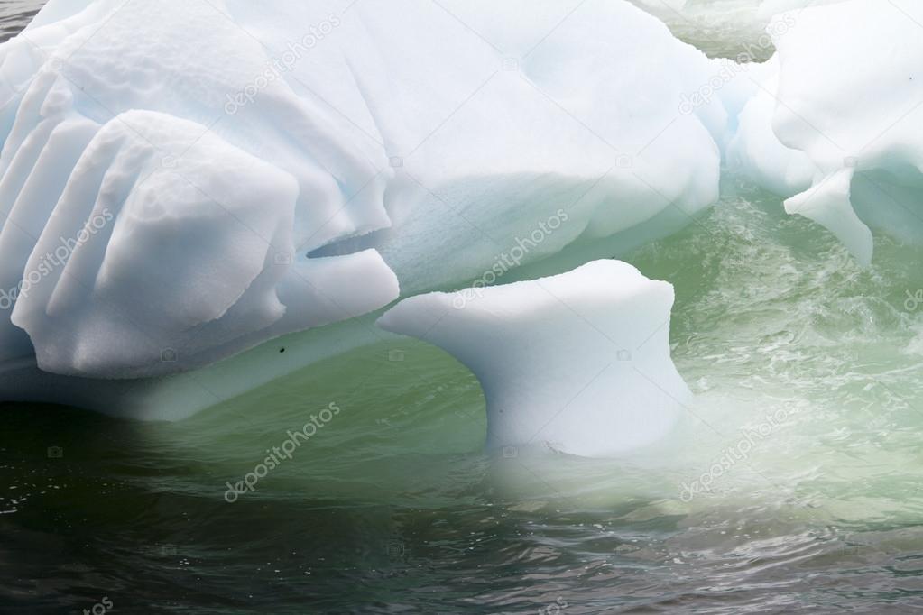 Antarctica - Icebergs - Closeup
