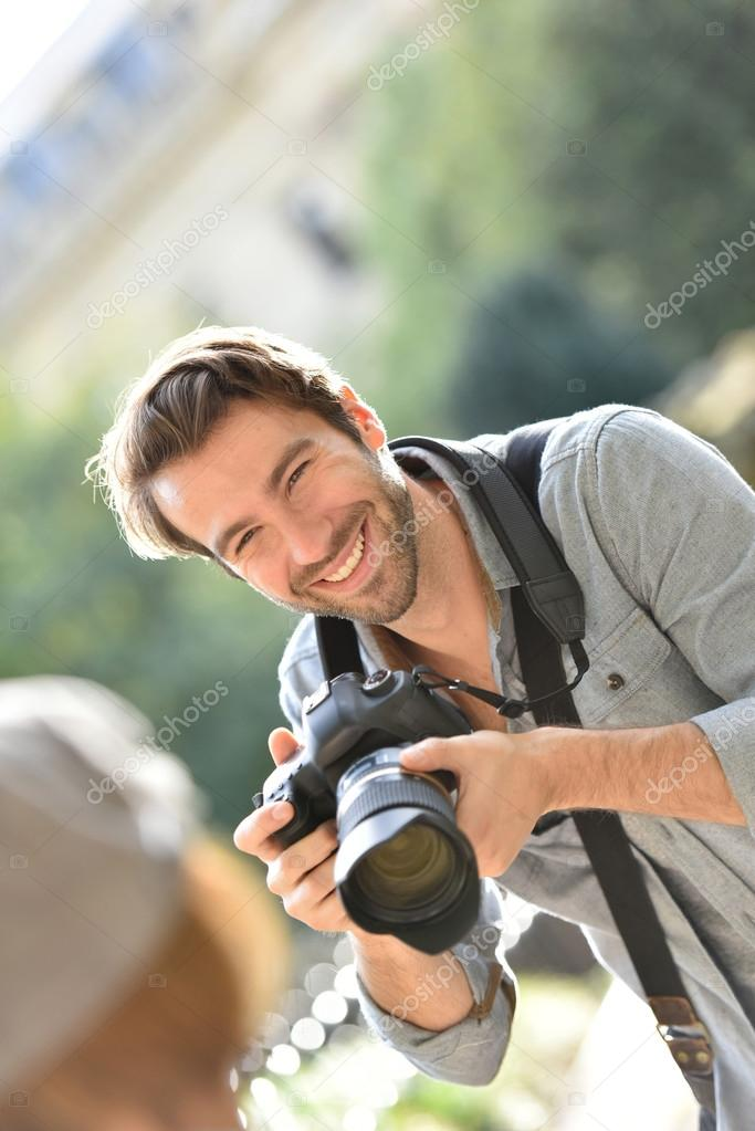 Dělejte fotografy s modely
