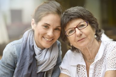 woman with home carer
