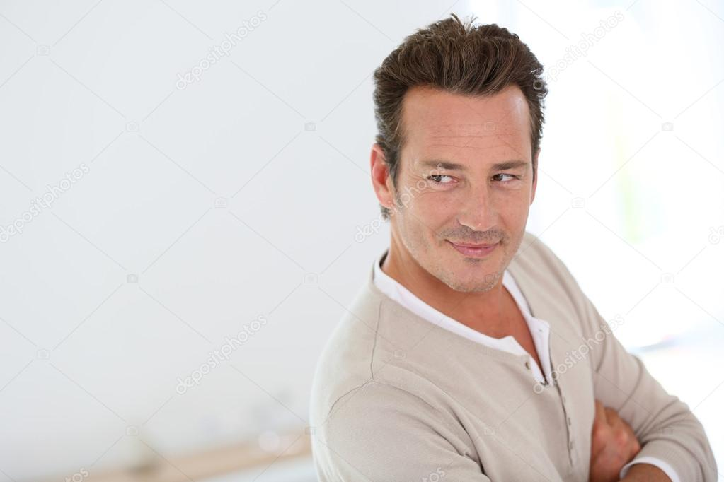 Handsome 40 year old man stock photo goodluz 53347053 What do you buy an 80 year old man