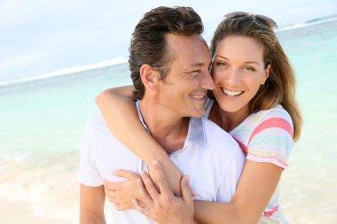 Couple enjoying vacation