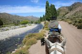Horse ride in North Patagonia