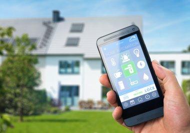 Smart home security app