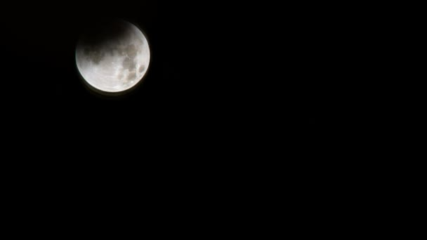 Super Blood Moon Eclipse timelapse