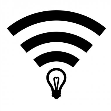 Li-Fi zone sign