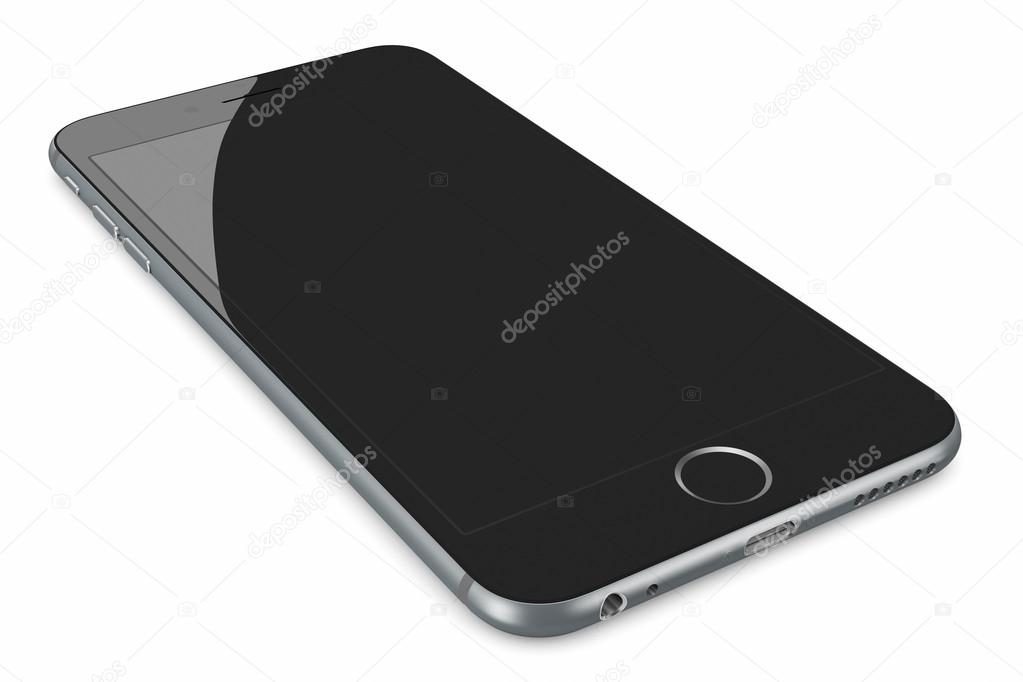 Apple Space Gray iPhone 6 Plus – Stock Editorial Photo