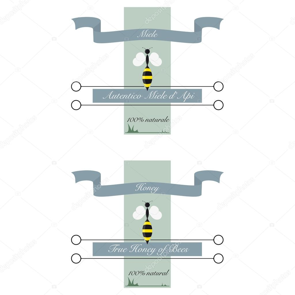 Label for honey bee stock vector patpat 100167220 label for honey bee stock vector ccuart Images