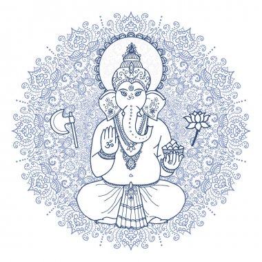 God Lord Ganesha.