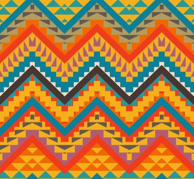 Colorful navajo pattern