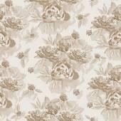 Fotografie vzorek s květinovými ornamenty vzorem