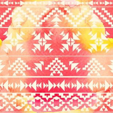 Ethnic geometric pattern