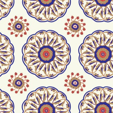 Iznik Tile Pattern