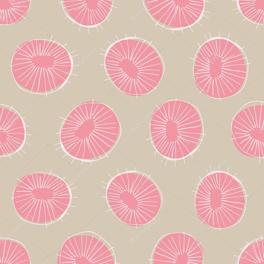 Nahtloser Vektor Muster Mit 50er Jahre Stil Mitte Des Jahrhunderts Moderne  Kreis Zeichnungen, Hintergrund Für Alle Web Zu Wiederholen Und Zwecke  Drucken ...