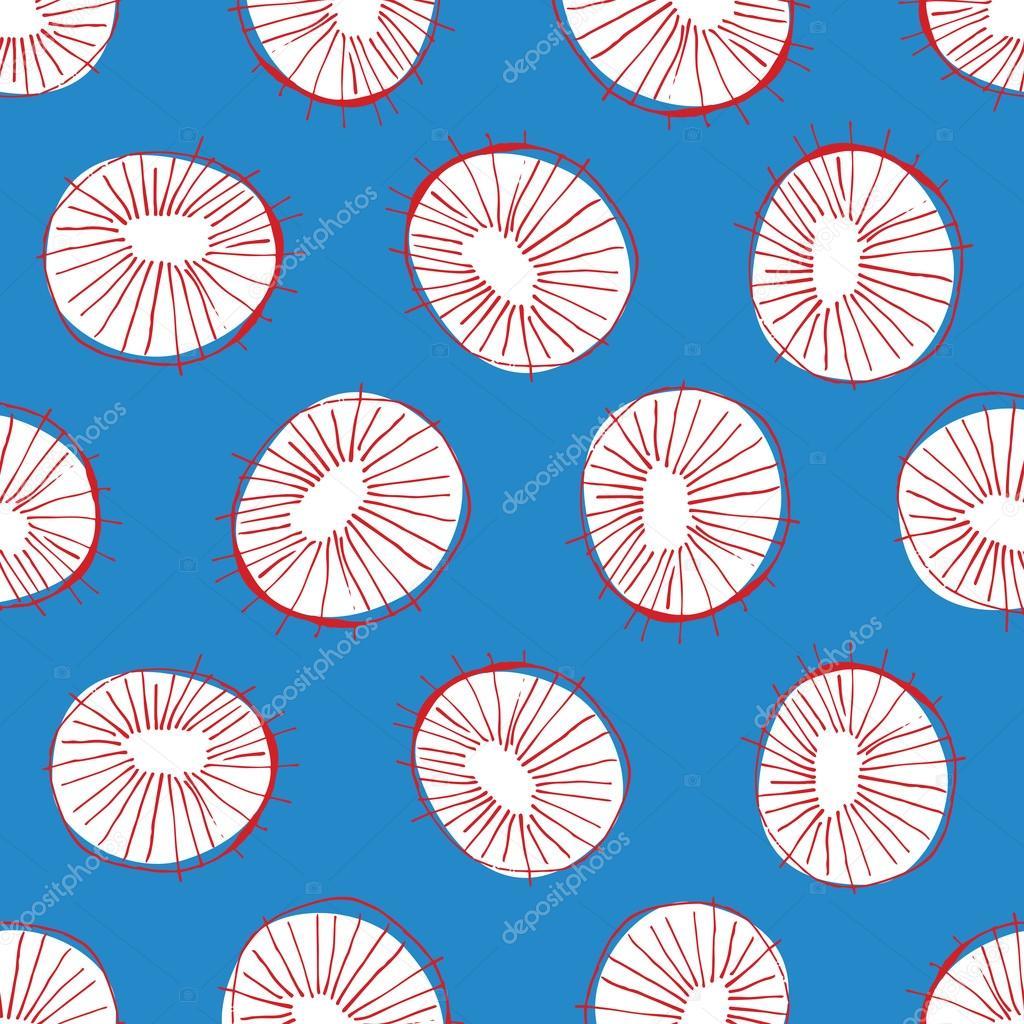 Perfekt Nahtloser Vektor Muster Mit 50er Jahre Stil Mitte Des Jahrhunderts Moderne  Kreis Zeichnungen, Hintergrund Für Alle Web Zu Wiederholen Und Zwecke  Drucken ...