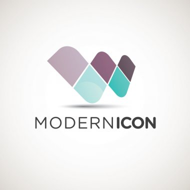 Modern Letter W Icon
