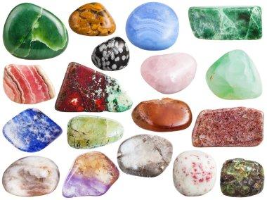set of ametrine, peridot, olivine, quartz, etc gem