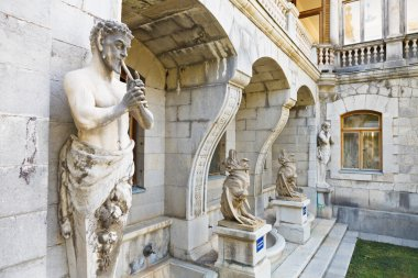 Sculptures Satyr and Chimera of Massandra Palace