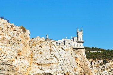 Aurora cliff with Swallow's Nest castle, Crimea