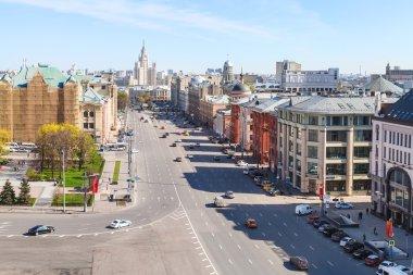 Lubyanskaya in Moscow city, Russia
