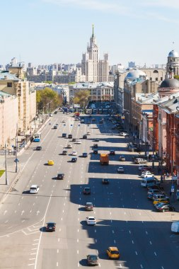 Lubyanka Square in historical center of Moscow