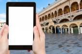 Photo tourist photographs of Piazza delle Erbe, Padua