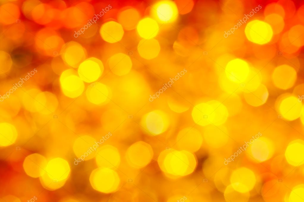 yellow and red blurred twinkling Xmas lights